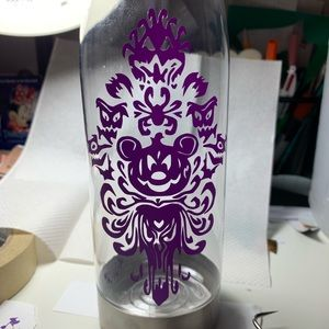 Mickey Haunted Mansion Water Bottle